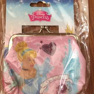 Disney princess wallet coin