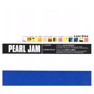 Pearl Jam ‎Last Kiss cd single