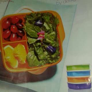 Square Divided Lunch Box