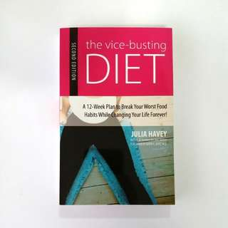 The Vice Busting Diet by Julia Havey (Paperback)