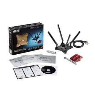 ASUS 4x4 802.11AC Wireless-AC3100 PCIe Adapter (PCE-AC88)
