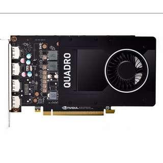 (二手) Leadtek Nvidia Quadro P2000 5GB DDR5 PCIE3.0 99% New
