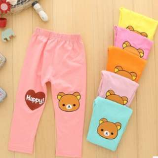 🎇🎇Ready Stock🎇🎇Long Pants - Kids (Rilakkuma)