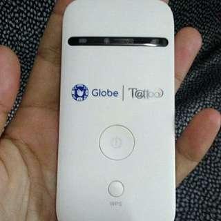 Globe tattoo pocket wifi 4g
