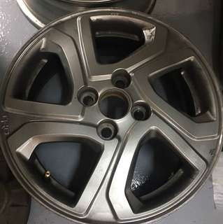 Used TRD Sport Rim and Toyota Sienta RIm