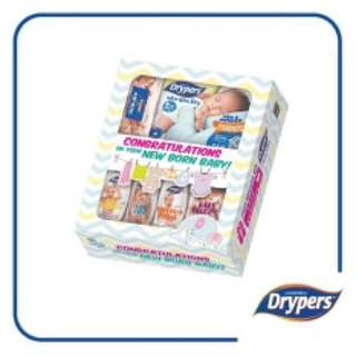 DRYPERS NEW BORN GIFT SET ( 6 ITEMS IN BOX)