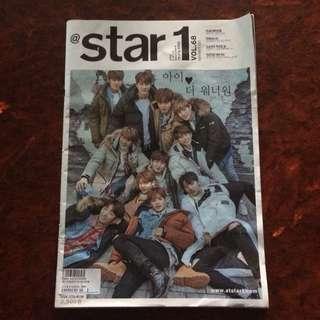 Wanna One Star1 Magazine