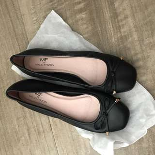Maud Frizon 黑色平底鞋size37