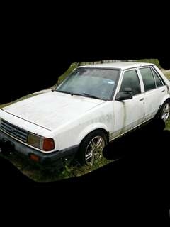 Ford laser sedan