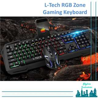 RGB Gaming Keyboard and Mouse Combo