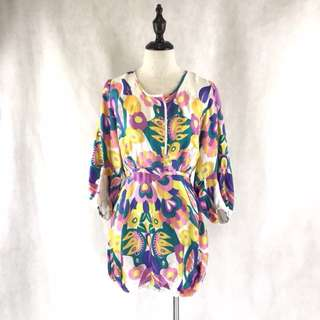 See by Chloé Floral Silk Top *COMPANY SAMPLE