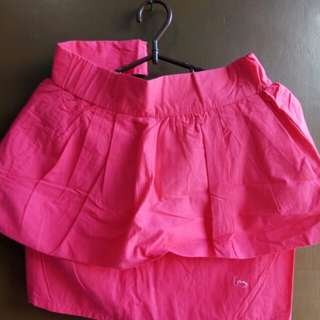 Layered Skirt Pink