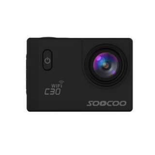 SOOCOO C30 SPORTS ACTION CAMERA WIFI 4K NTK96660 ADJUSTABLE VIEWING ANGLES
