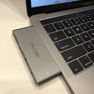 Type-C轉USB+讀卡器