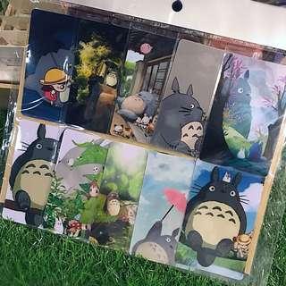 Anime • Manga • Totoro Card Sticker (10pcs)