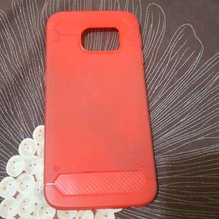 Red case s6 edge