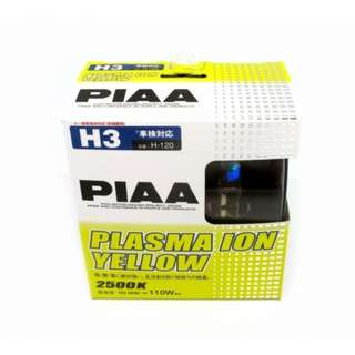 PIAA H-120 H3 2500K Plasma Ion Yellow Set of 2