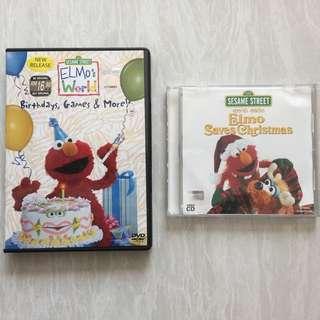 CD SesameStreet Elmo