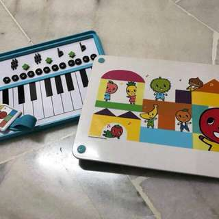 Yamaha music magnetic board