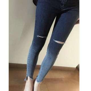 灰色漸層牛仔褲 #舊愛換新歡