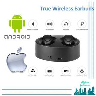 TWS True wireless Bluetooth Earbuds