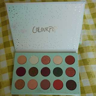 Authentic Colorpop Eyeshadow Palette