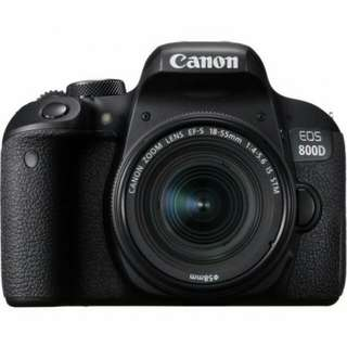 Dp 10% Canon EOS 800D WIFI 18-55 IS STM Kit