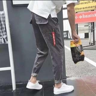 [預訂貨品] (2條/2pairs) 戶外旅行運動男士女士潮流創意型格修身長褲 (有碼) (Seriessix推廣系列) (包Buyup自取站取貨) (long pants)