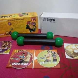 Zumba fitness (as seen on tv)