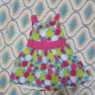 Preloved dress 1 to 3 yrs old