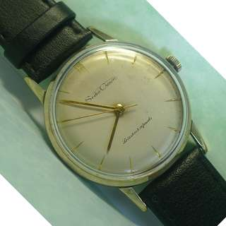 Vintage Seiko Crown Diashock 19-J hand-winding watch
