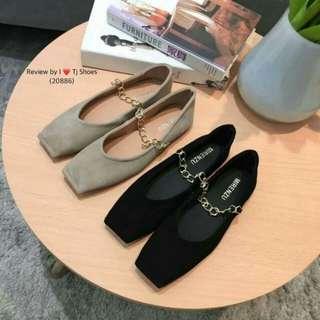 Flannel court shoes
