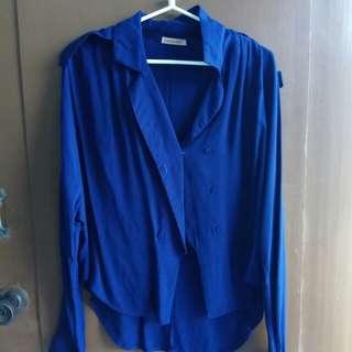 Formal long sleeve Navy Blue