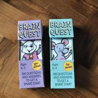 Brain Quest pre schooler set