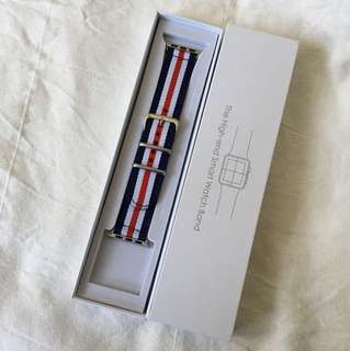 Apple Watch 42mm french-flag band