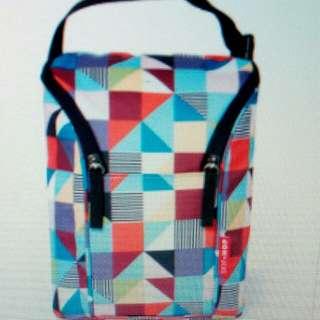 Skiphop grab & go double bottle bag