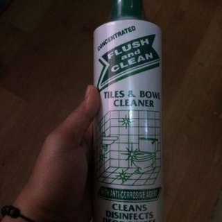 Flush & clean