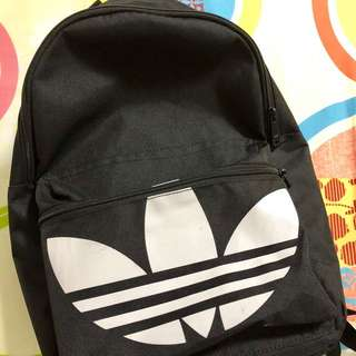 Adidas trefoil backpack bag