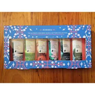 Korres The Ultimate Mini Body Milks and Butters Collection