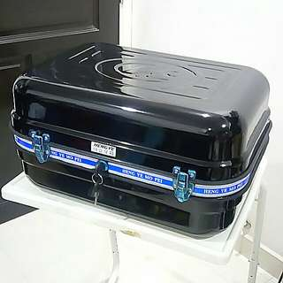 Extra Large Metal Rear Trunk Box Motorcycle