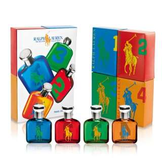 Ralph Lauren Big Pony Collection Set 4 x 15 ml