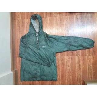 Green Ultra Lite Rain Suit