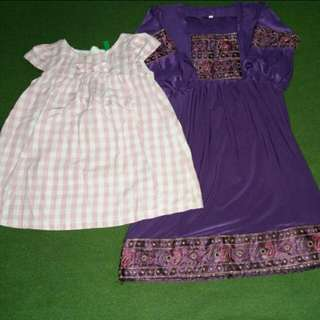 Girl's Dress (price for 2)