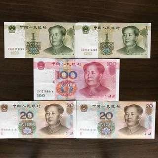RMB 人民币 China Banknote