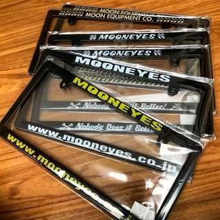 Frame Plate Mooneyes Ori Japan
