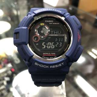 Casio G-Shock Mudman G-9300NV-2 G9300NV-2 g9300 藍色 泥人 太陽能