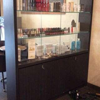 Lemari display ex salon