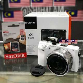 NEW SONY A6000