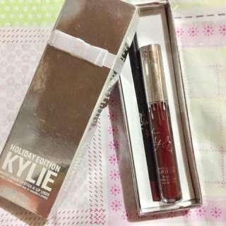 Kylie Lip Kit shade: Vixen