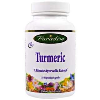 Paradise Herbs, Turmeric, 120 Veggie Caps